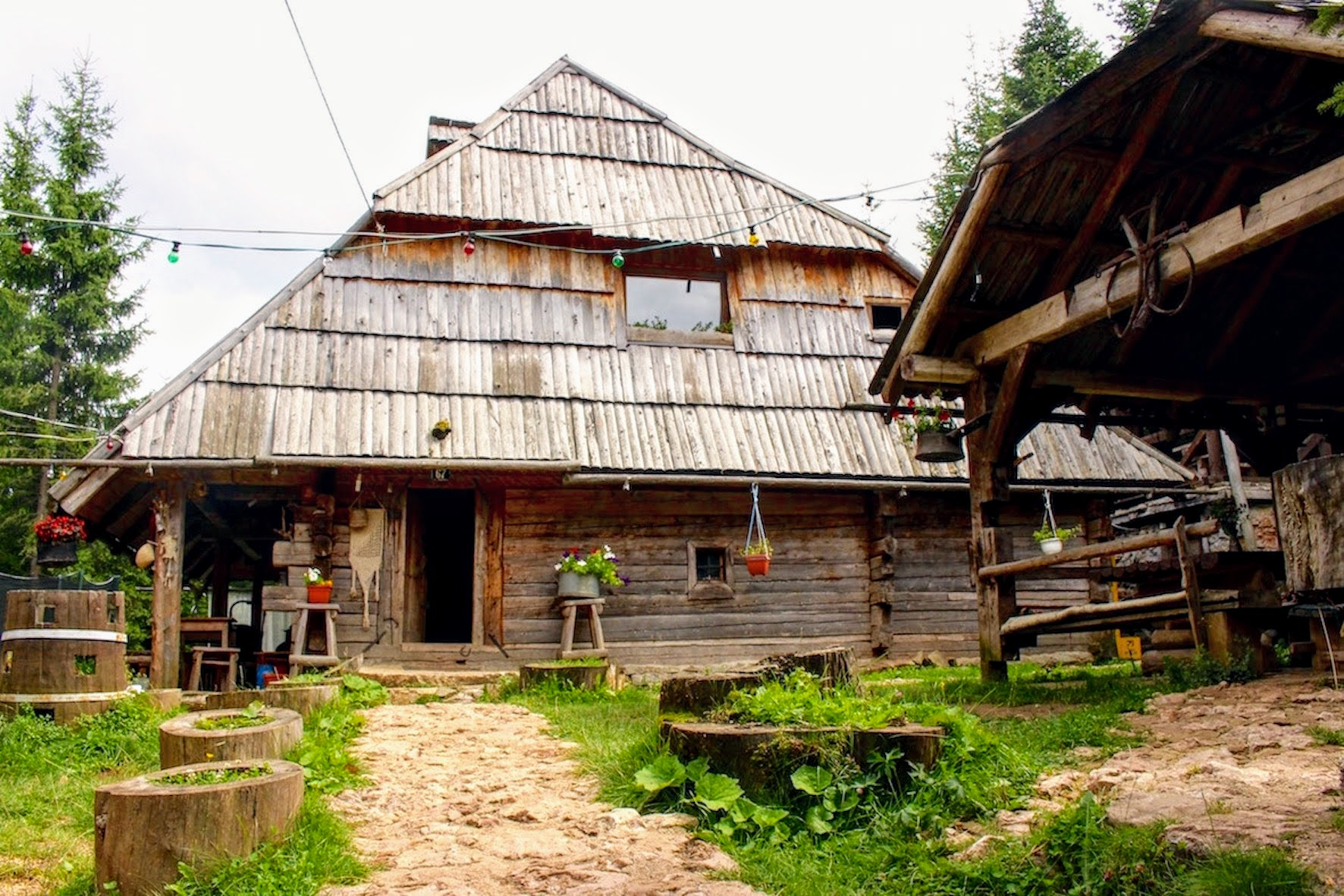 Vukov Konak - over 100 year old Bosnian Mountain Lodge